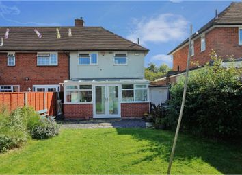 Thumbnail 2 bed end terrace house for sale in Rednal Road, Birmingham
