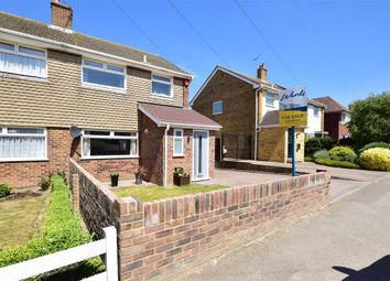 Thumbnail 3 bed semi-detached house for sale in Station Road, Walmer, Deal, Kent