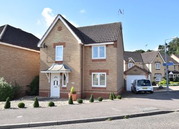 Thumbnail 3 bed detached house for sale in Heartsease Road, Thetford, Norfolk