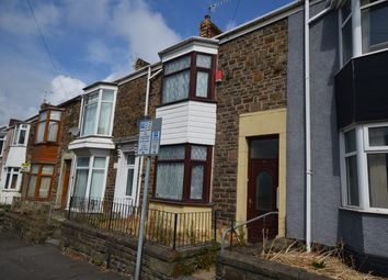 Thumbnail 3 bed terraced house for sale in Cromwell Street, Swansea