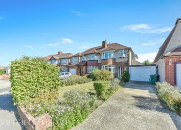 Thumbnail 3 bed semi-detached house for sale in Seaforth Gardens, Stoneleigh, Epsom