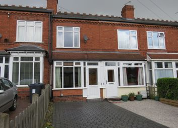 Thumbnail 2 bed terraced house for sale in Harman Road, Sutton Coldfield