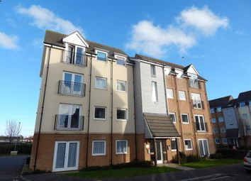 Thumbnail 2 bed flat for sale in Tudor Crescent, Cosham, Portsmouth