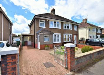 Thumbnail 3 bed semi-detached house for sale in Heol Gabriel, Whitchurch, Cardiff.