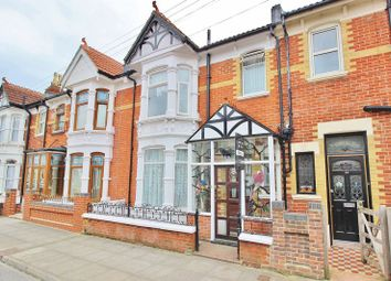 Thumbnail 3 bed terraced house for sale in Heyshott Road, Southsea