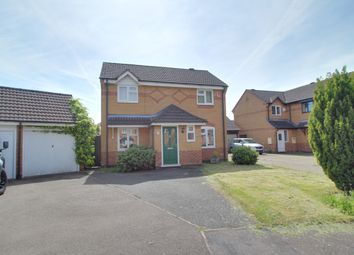 Thumbnail 3 bed detached house to rent in Norman Court, Oadby, Leicester