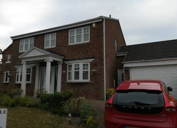 Thumbnail 4 bed detached house for sale in Hillston Close, Hartlepool