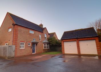 Thumbnail 4 bed detached house for sale in Townsend Way, Folksworth, Peterborough