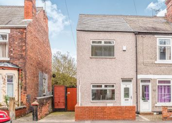 Thumbnail 2 bed end terrace house for sale in Wateringbury Grove, Staveley, Chesterfield