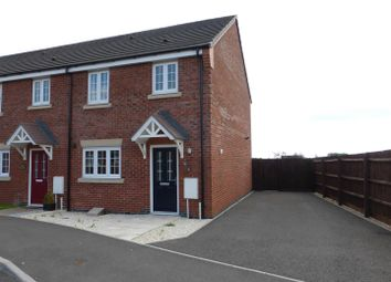Thumbnail 3 bed end terrace house to rent in Jupiter Avenue, Cardea, Peterborough