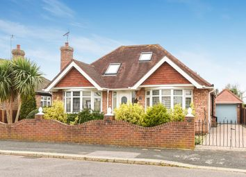 Thumbnail 3 bed detached bungalow for sale in Sherwood Road, Bognor Regis