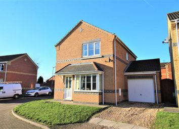 Thumbnail 3 bed detached house for sale in Milton Close, Cherry Willingham, Lincoln
