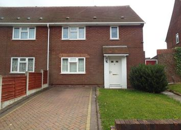 Thumbnail 1 bed maisonette for sale in Snape Road, Ashmore Park, Wolverhampton, West Midlands