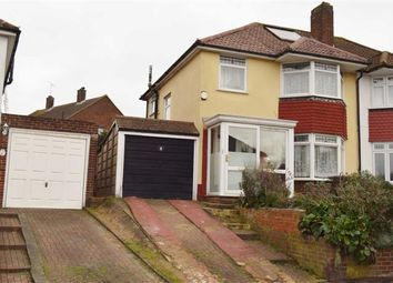 Thumbnail 3 bed semi-detached house for sale in Woodview Road, Swanley