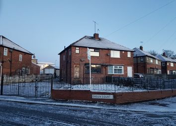 Thumbnail 3 bed semi-detached house to rent in Green Court, Lidget Green