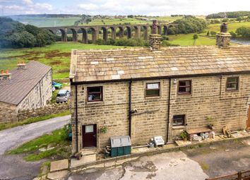 Thumbnail 3 bed semi-detached house for sale in East Manywells Cottages, Doll Lane, Cullingworth, Bradford