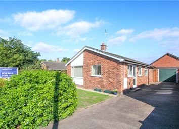 Thumbnail 2 bed detached bungalow for sale in Bligh Close, Framingham Earl, Norwich, Norfolk