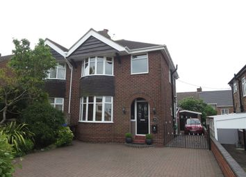 Thumbnail 3 bed semi-detached house for sale in Ashbank Road, Werrington, Stoke-On-Trent