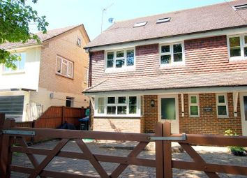 Thumbnail 4 bed town house to rent in Rickman Cres, Addlestone