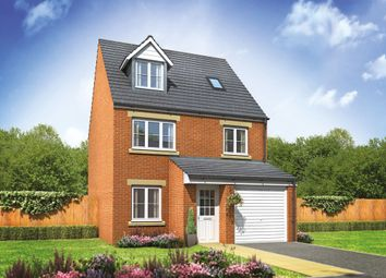 "Thumbnail 4 bed semi-detached house for sale in ""The Runswick"" at Norwich Road, Wymondham"