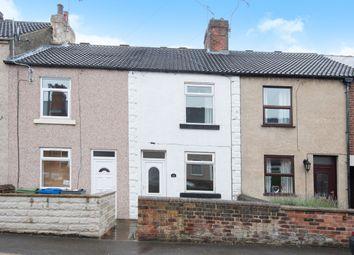 Thumbnail 2 bedroom terraced house for sale in Wellington Street, New Whittington, Chesterfield