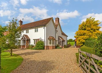 Thumbnail 5 bed detached house for sale in Main Street, Shudy Camps, Cambridge, Cambridgeshire