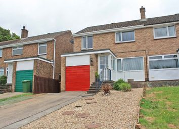 Thumbnail 3 bed semi-detached house for sale in Blackstone Close, Elburton, Plymouth 8Uq.