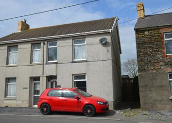 Thumbnail 3 bed semi-detached house for sale in Carway, Kidwelly
