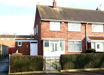 Thumbnail 3 bed end terrace house for sale in Holm Garth Drive, Hull, Yorkshire