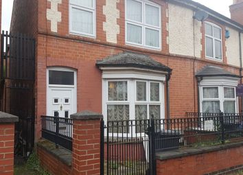 Thumbnail 3 bed semi-detached house for sale in Church Avenue, Leicester