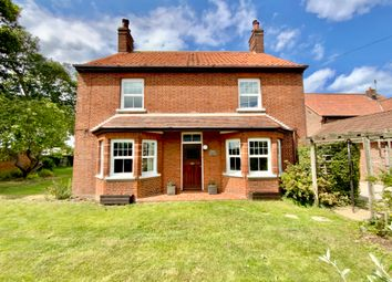 Thumbnail 3 bed detached house for sale in Chapel Road, Trunch, North Walsham