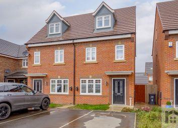Thumbnail 3 bed semi-detached house to rent in Pennington Drive, Farington Moss