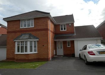 Thumbnail 4 bedroom detached house to rent in Cyril Evans Way, The Alders, Morriston, Swansea.