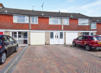 Thumbnail 3 bed terraced house for sale in Dove Rise, Oadby, Leicester