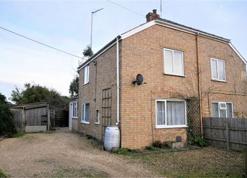 Thumbnail 2 bed semi-detached house for sale in Pius Drove, Upwell, Wisbech