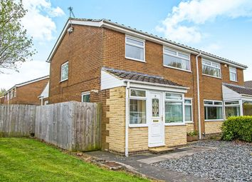 Thumbnail 3 bedroom semi-detached house for sale in Rosewell Place, Whickham, Newcastle Upon Tyne
