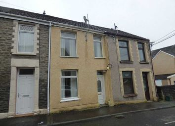 Thumbnail 2 bed terraced house to rent in Burrows Road, Melyn, Neath.