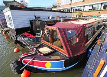 Thumbnail 1 bedroom houseboat for sale in Burgoine Quay, Lower Teddington Road, Hampton Wick