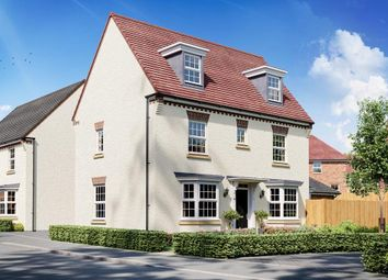 "Thumbnail 4 bed detached house for sale in ""Hertford"" at Cann Lane South, Appleton, Warrington"