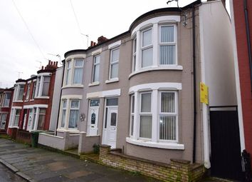 Thumbnail 3 bed end terrace house to rent in Norwood Road, Wallasey, Merseyside