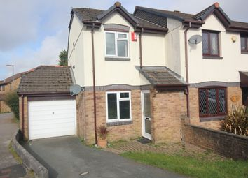 Thumbnail 2 bed semi-detached house to rent in Coombe Road, Callington