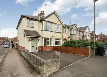 Thumbnail 3 bed end terrace house for sale in Edward Road, Dorchester