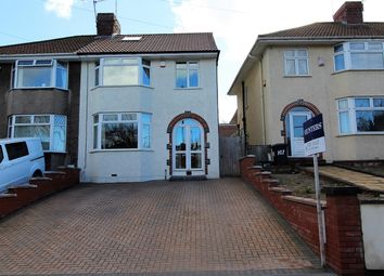Thumbnail 4 bed semi-detached house for sale in Airport Road, Hengrove, Bristol