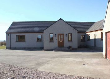 Thumbnail 6 bed detached bungalow for sale in Moorlands, Watten, Wick, Caithness