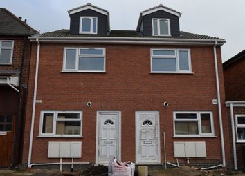 Thumbnail 3 bed semi-detached house for sale in Nansen Road, Evington, Leicester