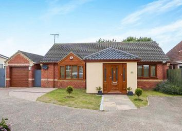 Thumbnail 2 bed detached bungalow for sale in El Alamein Way, Bradwell, Great Yarmouth