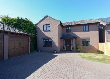 Thumbnail 4 bed detached house for sale in Cornfield Close, Ashgate, Chesterfield