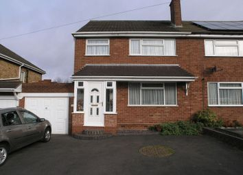 Thumbnail 3 bed semi-detached house for sale in Ashfield Grove, Halesowen
