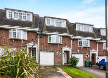 Thumbnail Town house for sale in Palmer Close, Redhill