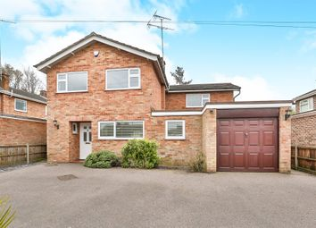 Thumbnail 4 bed detached house for sale in Greenborough Road, Norwich